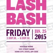 Lash Bash Invitation Preview